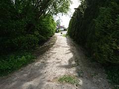 Kongleveien kobling_3607 (mtbboy1993) Tags: bikepath swinggate gate bushes summer tree gravel askim norge norway