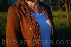 Cardigã Amiga (tricô em prosa) Tags: cardigã cardigan semcostura seamless knitting knitty knit algodão cotton tricô grátis free handknit feitoamão