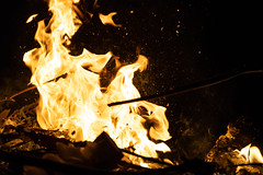 Raging Fire (binitestudios) Tags: night nature blaze fire photography binitestudios light life dark heat flame wood