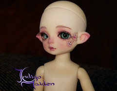 Faceup Commission (www.facebook.com/indigomaiden/) Tags: indigomaiden indigo maiden faceup faceupartist faceupcommission faceupservice resinsoul yu tiny impldoll adela msd sea creature fairy flowers fantasy fantasycreature bjd ball jointed dolls