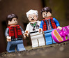 Marty & Doc Avoiding the Past (Jezbags) Tags: lego legos toy toys backtothefuture marty emmettbrown macro macrophotography macrodreams mac macrolego canon canon80d 80d 100mm closeup upclose mcfly