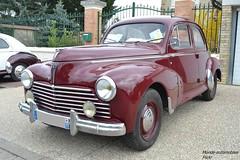 Perugeot 203 (Monde-Auto Passion Photos) Tags: vehicule auto automobile peugeot 203 berline red rouge ancienne classique rassemblement evenement france courtenay