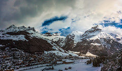 Engelberg,Switzerland (S.A.W. Pixels) Tags: syedaliwarda artistic arts artististic canon clouds city culture coast contrast dramatic dark darkclouds dusk excellent europe exposure exciting explore explored flickr flickraward flickrbest freedom greatphotographers water landscape landscapes panorama panaromic swiss switzerland canon5dmk3 photoadd tree sky mountain snow road mountainside cablecar mountains drama forest wood