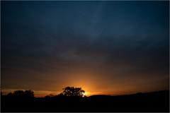 Sunset & Clouds (:: Blende 22 ::) Tags: germany german deutschland thuringia thüringen eichsfeld landkreis eic heilbadheiligenstadt heiligenstadt sunset sonnenstrahlen sonnenuntergang sonne sun clouds cloudy ef2470f28liiusm canoneos5dmarkiv sky himmel licht light