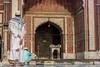 Jama Masjid Mosque 3 (Le Prometheen) Tags: india mosque old delhi islam muslim jama masjid spiritual devotee