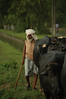 BEFORE - Pakistan - Herdsman on the Road to the Indian Border (robinlawrenceoien) Tags: pakistan travel man cow life