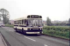 South Notts 704, East Leake, 1991 (Lady Wulfrun) Tags: southnotts 704gto704v eastleake june 1991 leylandnational nct nottinghamcitytransport nottingham gotham