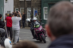 press motorbike (barronr) Tags: england knaresborough rkabworks tourdeyorkshire yorkshire bathgatephotographer cycling motorbike news press race