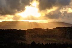 IMG_9490F (Cilmeri) Tags: sunsets sun contrejour silhouettes goldenhour trawsfynydd gwynedd snowdonia eryri wales clouds sunbeams cloudsstormssunsetssunrises