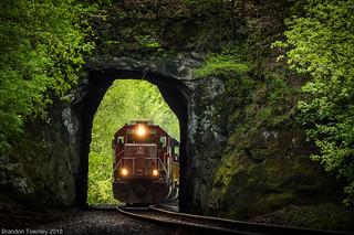 Kanawha River Railroad near Dexter, Ohio