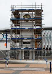 20180513_0303_7D2-37 Time for repairs (johnstewartnz) Tags: clocktower repair repairs scaffolding newbrighton canon canonapsc apsc eos 7dmarkii 7d canon7dmarkii canoneos7dmkii canoneos7dmarkii 2470 2470mm ef2470mmf4l 100canon clock saltonthepier