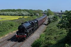 45212 (Tomahawk Photography) Tags: ukrail ukrailways rail railway railways train britishrailways steamtrain black5 45212