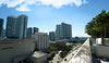 View from a city balcony. (Aglez the city guy ☺) Tags: cityscapes city clouds outdoors urbanexploration balcony trees architecture building view blue cars highways bridge y