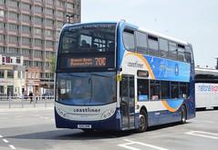 10009 GX12DXR (PD3.) Tags: bus buses psv pcv hampshire hants england uk portsmouth stagecoach 10009 gx12dxr gx12 dxr adl enviro 400 coastliner 700 interchange station hard gunwharf quays