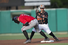 Oklahoma State Cowboys vs Texas Tech Red Raiders Baseball Game, Friday, May 18, 2018, Allie P. Reynolds Stadium, Stillwater, OK. Bruce Waterfield/OSU Athletics (OSUAthletics) Tags: 2018 athletics baseball big12 cowboys oklahomastate oklahomastatecowboys oklahomastateuniversity osu pokes raiders redraiders texastechuniversity ttu