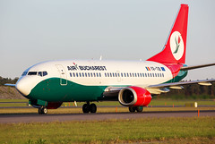 YR-TIB Boeing 737-3L9 Air Bucharest (Andreas Eriksson - VstPic) Tags: yrtib boeing 7373l9 air bucharest airbucharest722 from athens