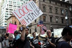 lock (greenelent) Tags: notrump protest demonstration riseandresist streets people activists nyc newyork