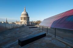 One New Change (Spannarama) Tags: stpaulscathedral onenewchange london uk rooftop sunshine morning morninglight