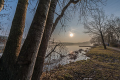 Dechsendorfer Weiher 0627 (Peter Goll thx for +11.000.000 views) Tags: erlangen germany dechsendorf weiher pond lake sun sonne landscape sunrise tree fog d850 nikon nikkor
