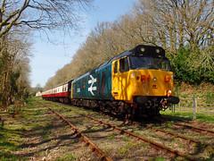 50042 Boscarne Junction (13) (Marky7890) Tags: 50042 class50 diesel locomotive heritage boscarnejunction bodminwenfordrailway cornwall train