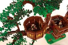 DSC_1138 (timstone2) Tags: lego moc afols swiss family robinson treehouse island disney movie lost minifigures legomoc legomocs parrot dog tree epic huge mocs legoafol afol legobuild legoart
