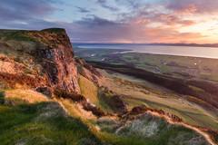 Benevenagh & The Roe Valley (explored) (Hibernia Landscapes (sjwallace9)) Tags: binevenagh benevenagh limavady roevalley ireland mountain irish sunset