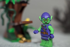 The Goblin has found a great place to stash his gold (N.the.Kudzu) Tags: tabletop lego miniature goblin lightroom