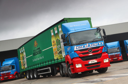 Lenham Mercedes Truck