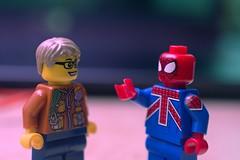 Back to the UK (Kelko585) Tags: minifigure minifig minifigures macro marvel afol adventure adventures superhero spiderman spideman lego