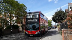 Limited Edition 196 (Unorm001) Tags: e8 e 8 sn06bnl sn06 bnl 196 red london double deck decks decker deckers buses bus routes route diesel