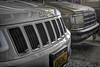 Les Grills! (✿☼Sunshine & Warmer Temps☼✿) Tags: odc grill grills vehicles front jeep van inthegarage