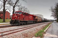 CSX K442-19 (Steve Hardin) Tags: canadianpacific csx wa westernatlantic railroad railway railfan ethanol train tankcar es44ac locomotive engine diesel railroadcrossing cartersville georgia
