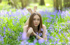 Bluebell shoot with Caitlin by unexpectedtales - See the video of this shoot on Weekly Imogen : www.youtube.com/watch?v=4vXjv1Zyebg