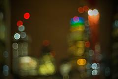 Meyer-Optik Domiplan 50mm (Spannarama) Tags: defocused defocus blurred outoffocus view skyline bokeh gherkin lights crane evening dark lowlight night barbican highwalk london uk meyeroptikdomiplan50mm 50mm meyeroptik domiplan manualfocus