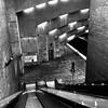 Sensation de vertige... (woltarise) Tags: station métro placesthenri escalator quai montréal streetwise iphone6s