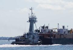 Denali (jelpics) Tags: barge denali tug tugboats boat boston bostonharbor bostonma harbor massachusetts ocean port sea ship vessel