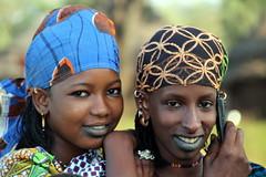 Good Friends (Alan1954) Tags: two women fulani cotedivoire ivorycoast holiday 2017 portrait colourful platinumheartaward