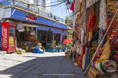 Chefchaouen 2017 (Karim Achalhi) Tags: chefchaouen carpet bluecity morocco northofmorocco streetphotography streetscene cocacola colorful traditional traveling travelmemories memories inspiration soul moment dream reality dreamland