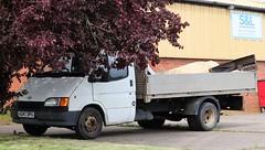 K247 DPU (Nivek.Old.Gold) Tags: 1992 ford transit 190 d lwb dropside 2496cc