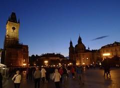 One Night in Prag (Ken-Zan) Tags: city praha prag blue star kyrka houses venus