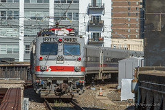 SEPTA #6374 @ Philadelphia, PA (Darryl Rule's Photography) Tags: 30thststation aem7 express inbound local outbound overbrook pa pc prr passenger passengertrain penncentral pennsy pennsylvania pennsylvaniarailroad philadelphia railroad railroads regionalrail septa spax silverliner silverlineriv train trains