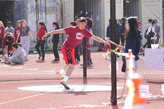 IMG_8432 (susanw210) Tags: track running trackandfield teamwork atheletes students highschool team jumping hurdles lowell cardinals highschoolsports