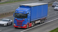 J500 HYS (panmanstan) Tags: scania ng s650 wagon truck lorry commercial curtainsider freight transport haulage vehicle a1m fairburn yorkshire