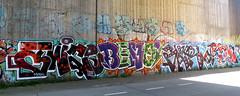 graffiti in Amsterdam (wojofoto) Tags: amsterdam nederland netherland holland graffiti streetart wojofoto wolfgangjosten benoi benoit twice gear