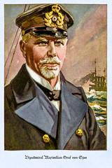 Vizeadmiral Maximilian Graf von Spee (zimmermann8821) Tags: kriegsmarine marine admiral flotte flottenkommandeur uniform postkarte deutscheskaiserreich deutschesreich