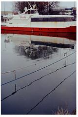 Tallinn, Estonia. (Dmitry Yurchenko) Tags: tallinn estonia harjumaa kalamaja kalaturg landscape silence balticsea ship reflection kodakstar575 kodakgold100 vesta