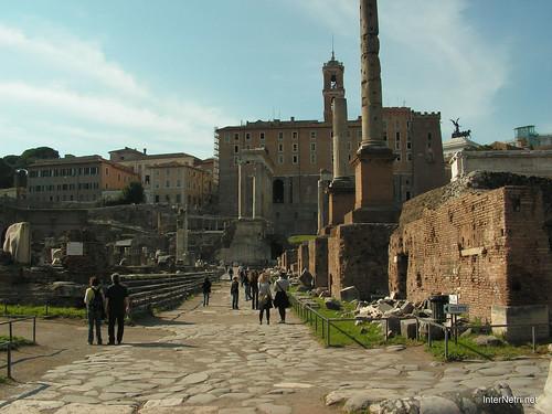 Римський форум, Рим, Італія InterNetri Italy 494