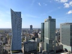 Warsaw from PKiN (Palace of Culture & Science) (poprostuflaga) Tags: polska poland polen warszawa warsaw warschau