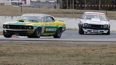 MASTERS 1 & 2 ~ Winton (1/2) (Jungle Jack Movements (ferroequinologist)) Tags: winton touring car masters vic victoria mustang ford fastback steve john johnson jim pollicina holden torana a9x gm gmh v8 bowe lx win winner motor racing pass race speed cars hottie track practice pole position times timing hard competition competitive event saloon open wheeler sports racer driver mechanic engine oil petrol build fast faster fastest grid circuit drive helmet marshal starter sponsor number class motorsport classic