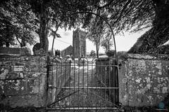 Church of St Thomas Becket (pm69photography.uk) Tags: southwest sony sourton devon dartmoor church bw blackandwhite noir monochrome gate niksilverfx nik a7r3 a7riii sonya7r3 sonya7riii voigtlander voigtlanderheliarf56 voigtlanderheliar10mmf56 voigtlander10mm atmospheric atmosphere